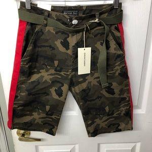 AMERICAN BAZI camouflage shorts Sz Med